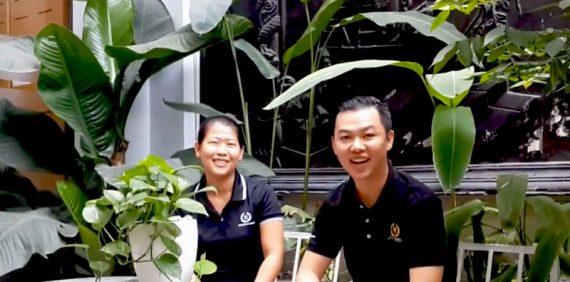 Cảm xúc ngày làm việc cuối năm của các nhân viên Happy Home