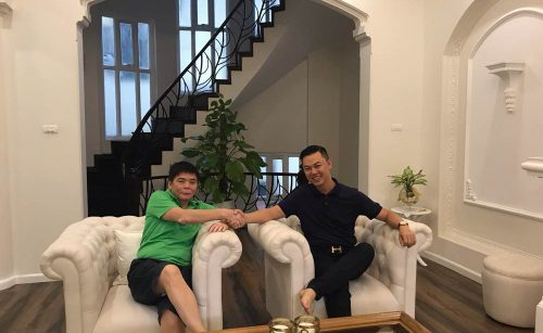 HAPPY HOMES REPRESENTATIVE VISITING HOME 44 HO HAO HON